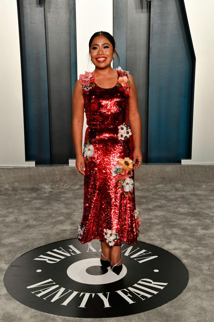 Yalitza Aparicio en el Oscar 2020