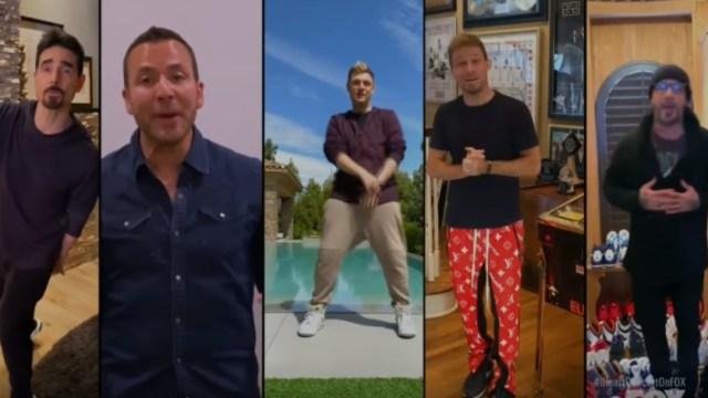 Backstreet Boys dan concierto en casa contra el Coronavirus
