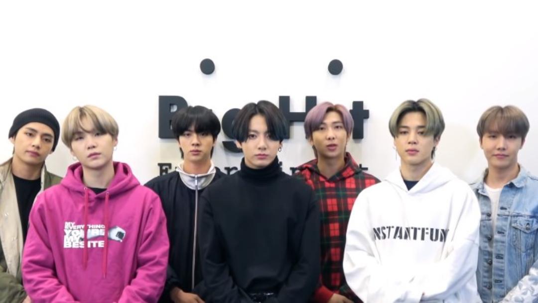 BTS manda mensaje de esperanza en pandemia por CORONAVIRUS