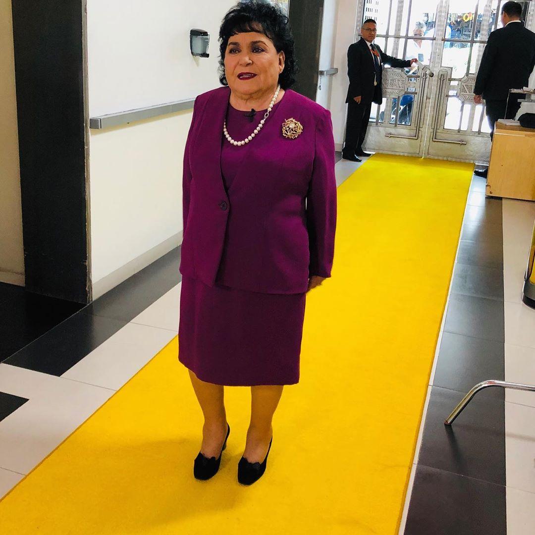 Carmen Salinas se disculpa con la embajada de China en México