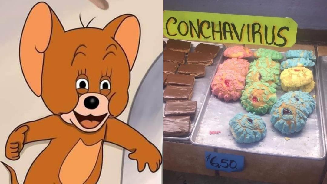 Conchavirus el pan de mexico inspirado en el coronavirus