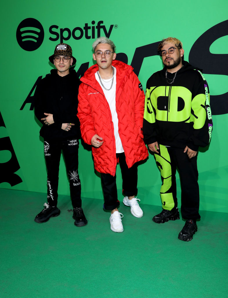 Alfombra Verde Spotify Awards 2020