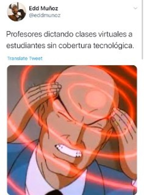 Memes de las clases virtuales por el Coronavirus