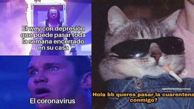 Memes de la cuarentena por Coronavirus en México