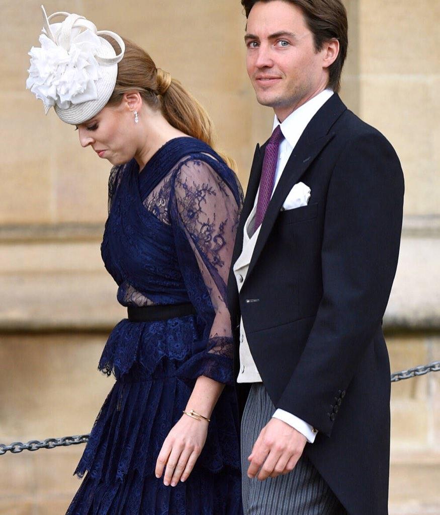 Boda de la princesa Beatriz y Edoardo será una boda maldita