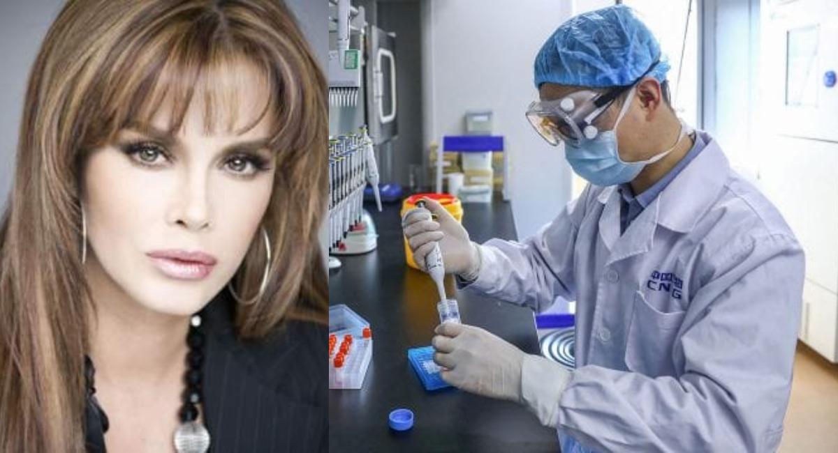 Lucía Méndez: el coronavirus fue inventado en un laboratorio