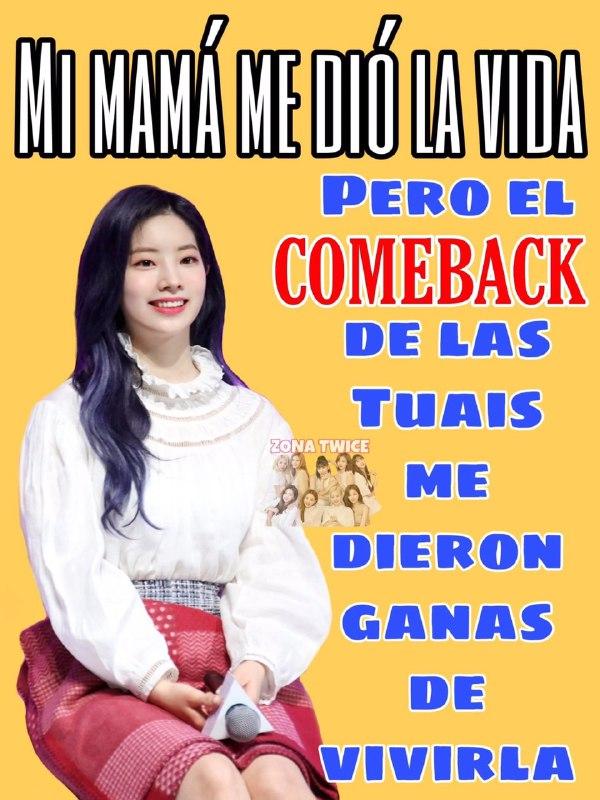 """TWICE confirma comeback el 1 de junio con """"More N More""""."""