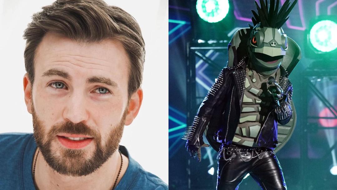 Chris Evans podría ser Turtle en The Masked Singer