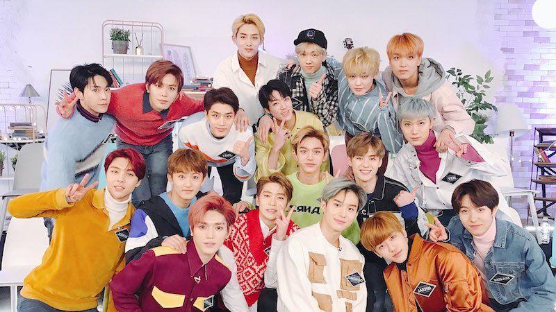 Kpop: NCT foto del grupo completo