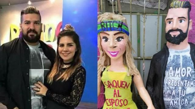 Esposo de Karla Panini amenaza tienda creó piñata de ella