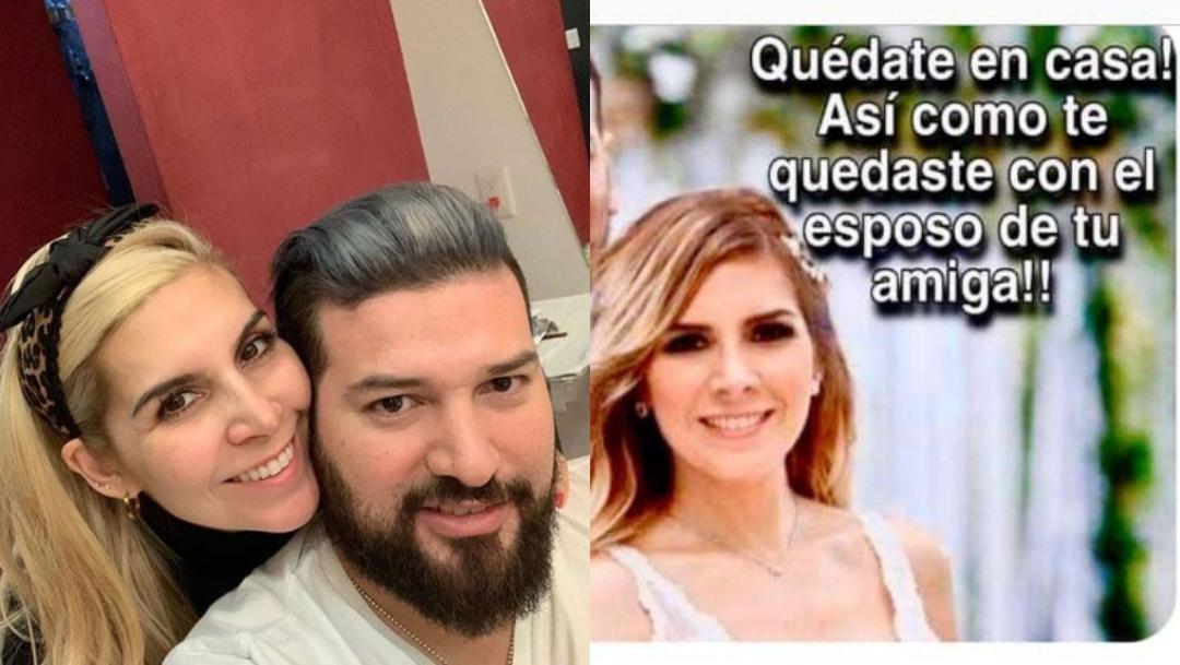 Karla Panini lavandera cierra Instagram por foto boda 2020