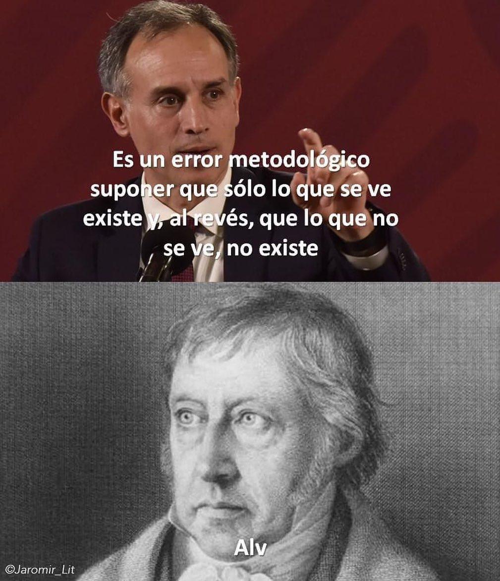 Memes del Dr. Hugo Lopez Gatell y el modelo centinela
