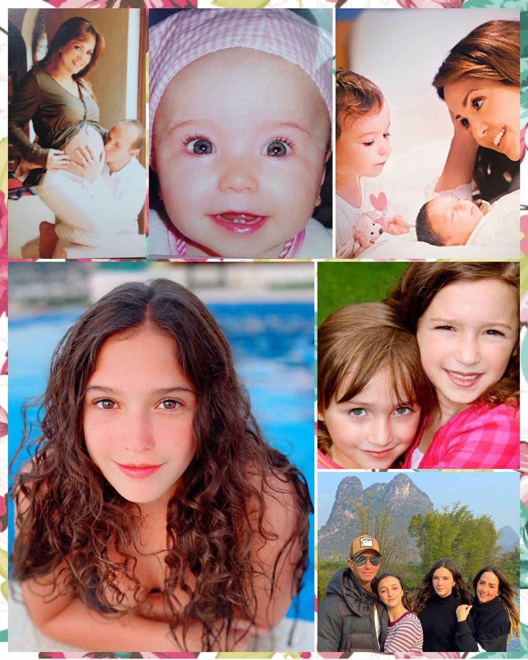 Mía Rubín, la hija de Andrea Legarreta y Erik Rubín cumple 15 años