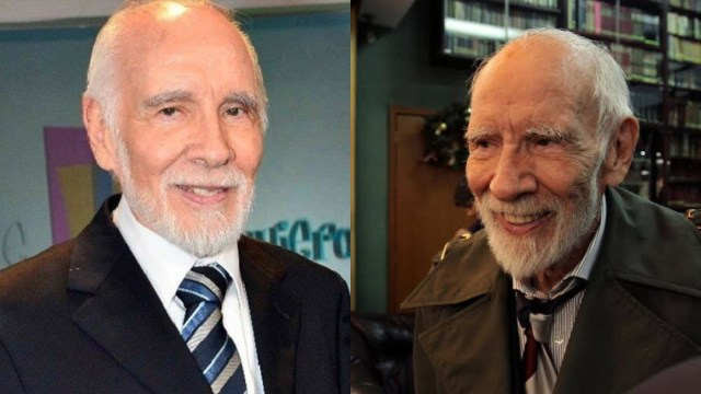 Muere el actor Aarón Hernán a los 89 años de edad confirman