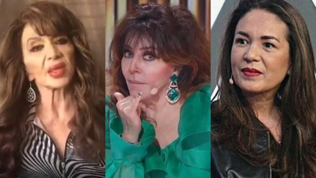 Olga Breeskin defiende a Verónica Castro de Yolanda Andrade