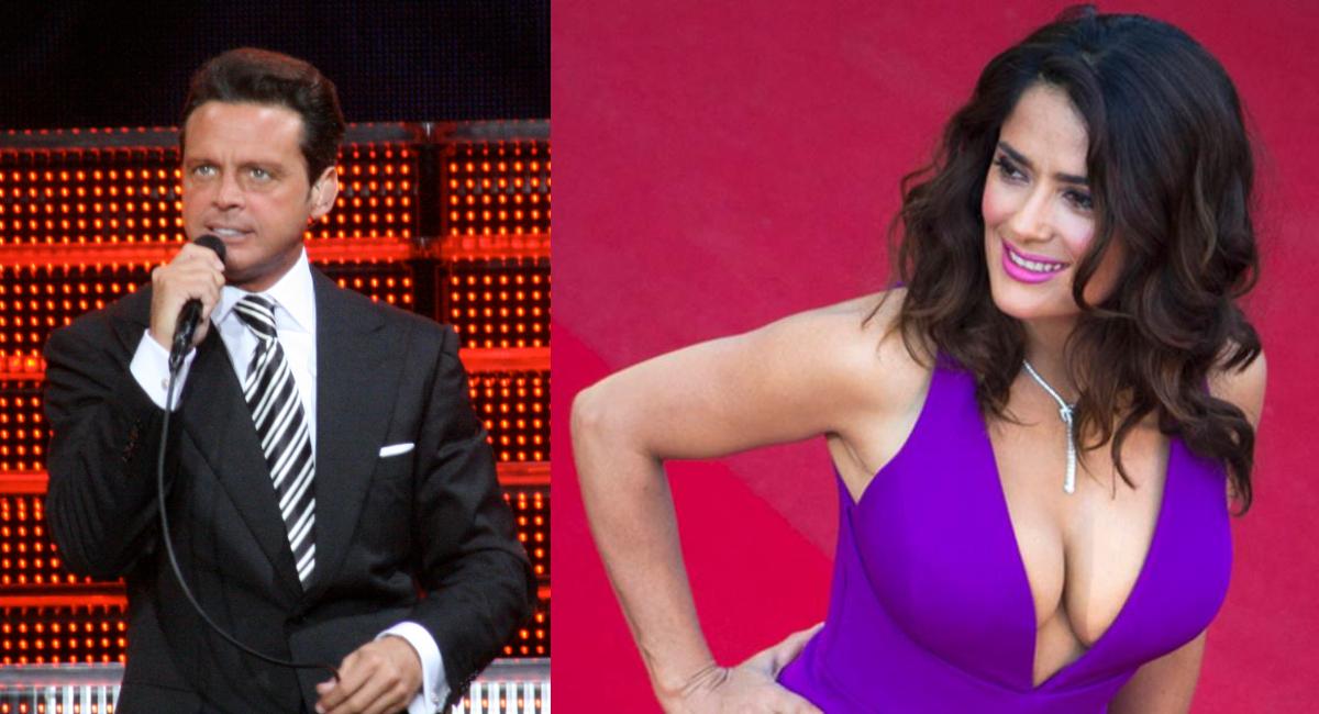 Salma Hayek comparte foto inédita con a Luis Miguel en Oscar
