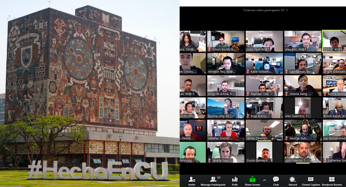 Convocan a paro de clases digitales en UNAM por calendario