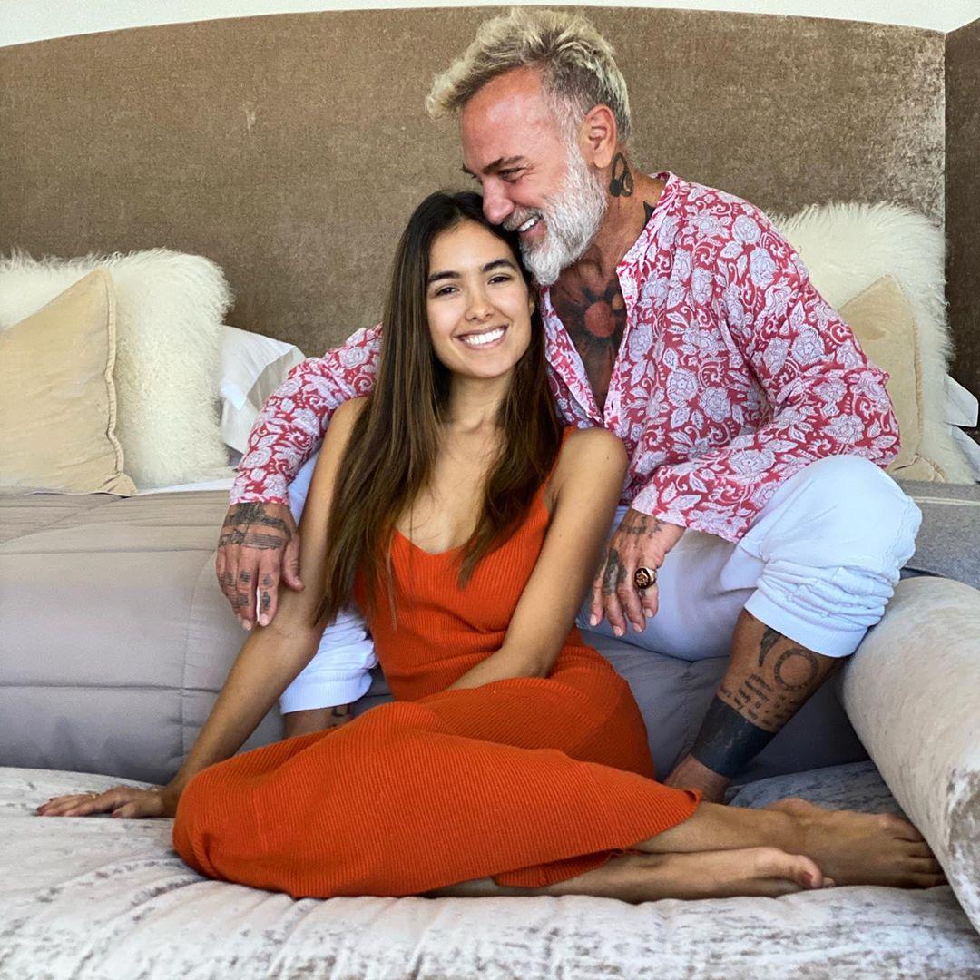Gianluca Vacchi anuncia que será papá junto a su novia de 25 años