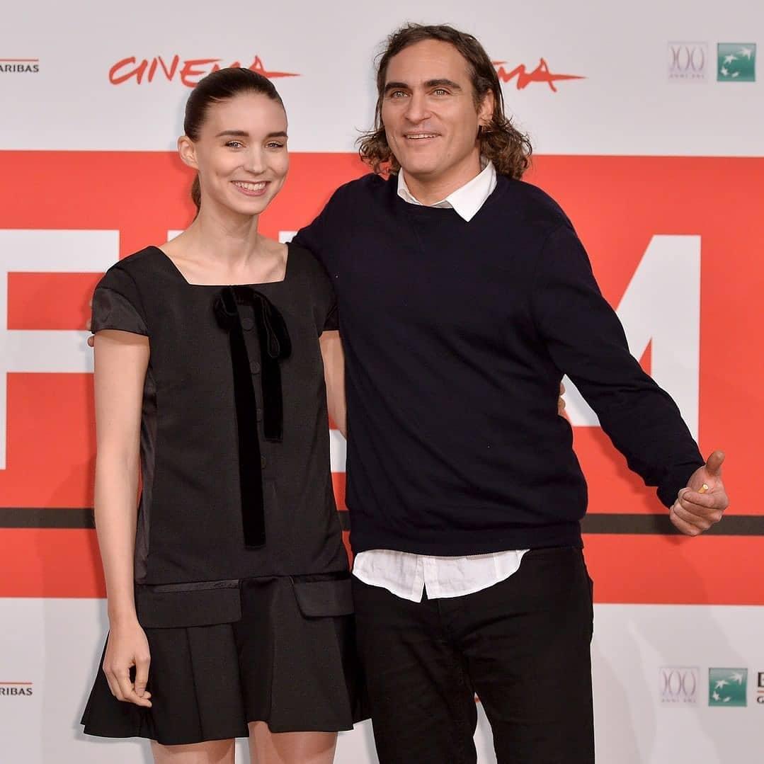 Joaquin Phoenix y Rooney Mara esperan a su primer hijo juntos