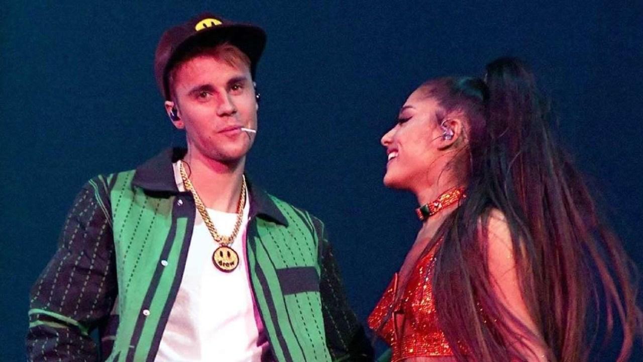 Justin Bieber y Ariana Grande anuncian colaboración