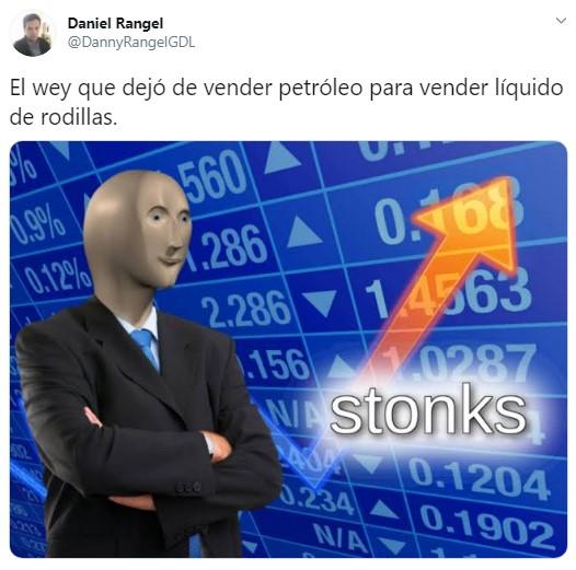 Liquido de las rodillas meme