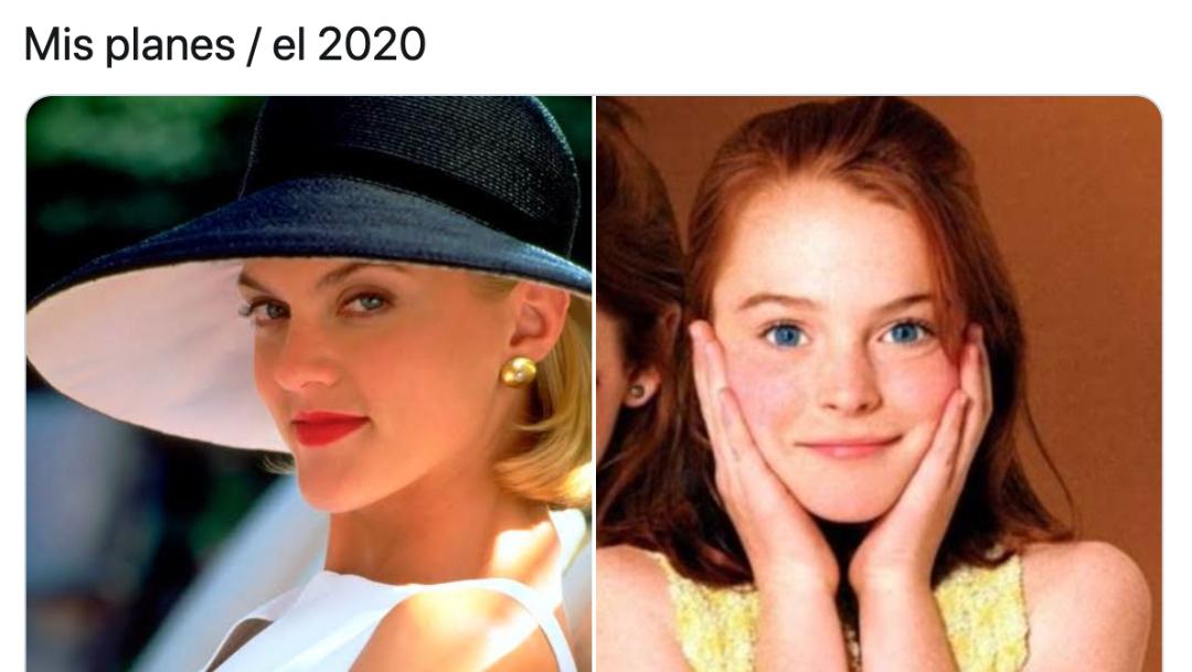 Memes de mis planes arruinados por el 2020 y el Coronavirus