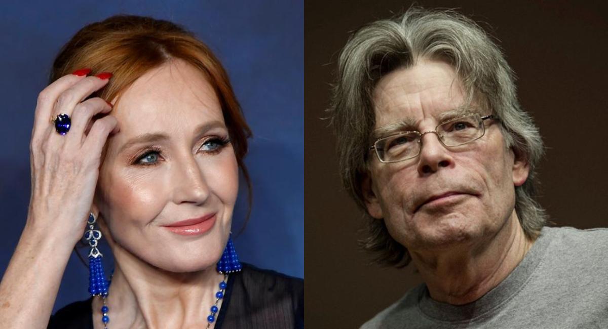 JK Rowling borra tweet a Stephen King por no apoyar a TERF s