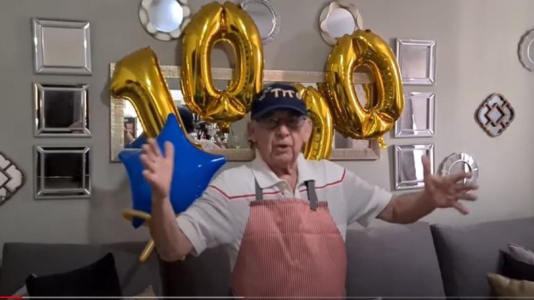 Tito Charly: abuelito cocina en YouTube por el coronavirus