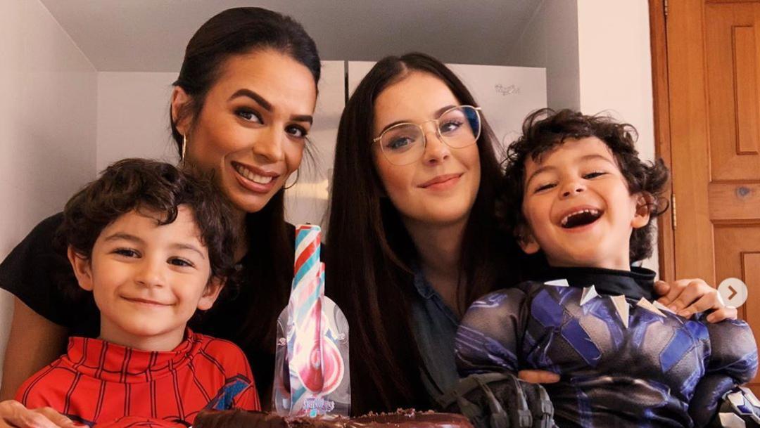 Eduardo Capetillo y Biby Gaytán festejan cumpleaños hijos