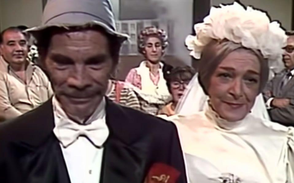 La escena censurada en la boda de Don Ramón y la Bruja del 71 en el Chavo del 8