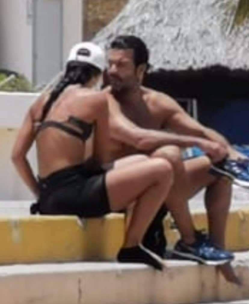 Corren a Pablo Montero y su novia de playa de Acapulco