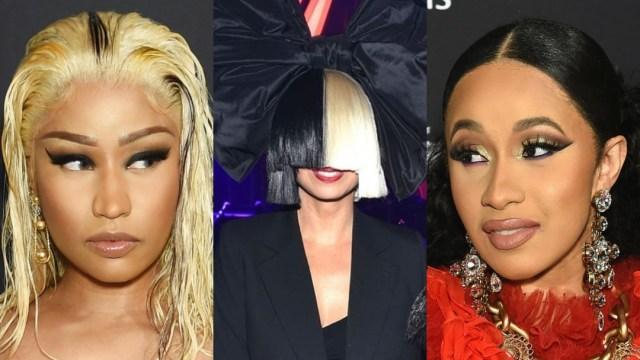 Sia confunde a Nicki Minaj con Cardi B y se disculpa