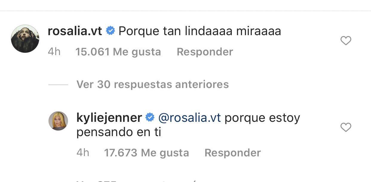 Rosalía le enseña a hablar a español a las Kardashians y parece que aprenden rápido