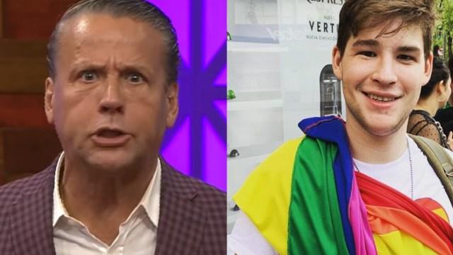 Revelan audios de Alfredo Adame insultando a su hijo por su orientación sexual