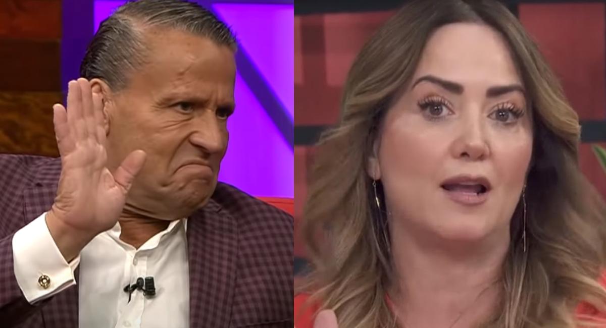 """Alfredo Adame arremete contra Andrea Legarreta y la llama """"ignorante"""""""