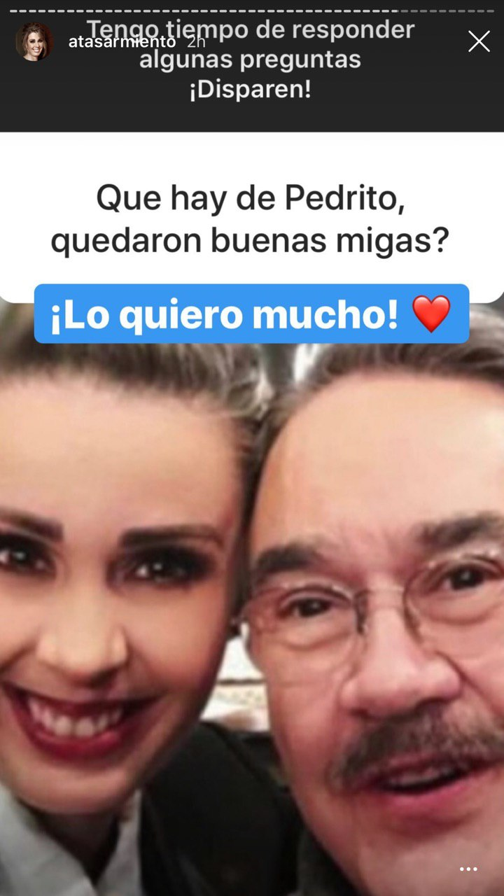 Atala Sarmiento revela la traicion de Daniel Bisogno