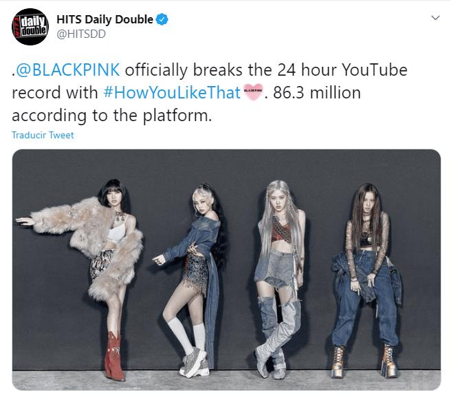 BLACKPINK regresó para romper todos los récords de música