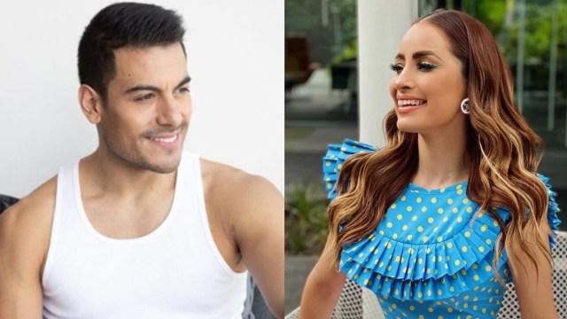 Carlos Rivera y Cynthia Rodríguez presumen su relación