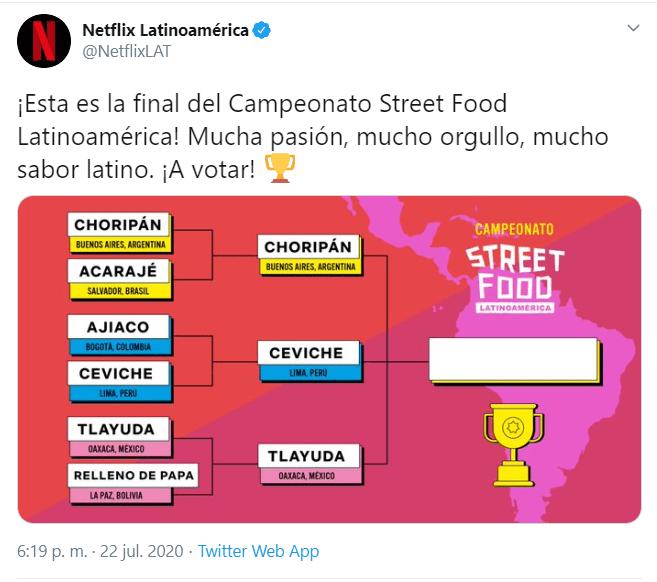 Peruanos quieren poner su ceviche como el mejor platillo callejero, pero la tlayuda tiene que ganar