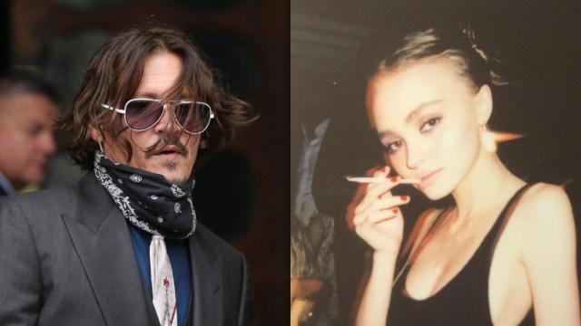 Johnny Depp le dio marihuana a su hija cuando tenía 13 años