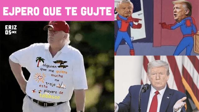 Los mejores memes de la visita de AMLO a Donald Trump