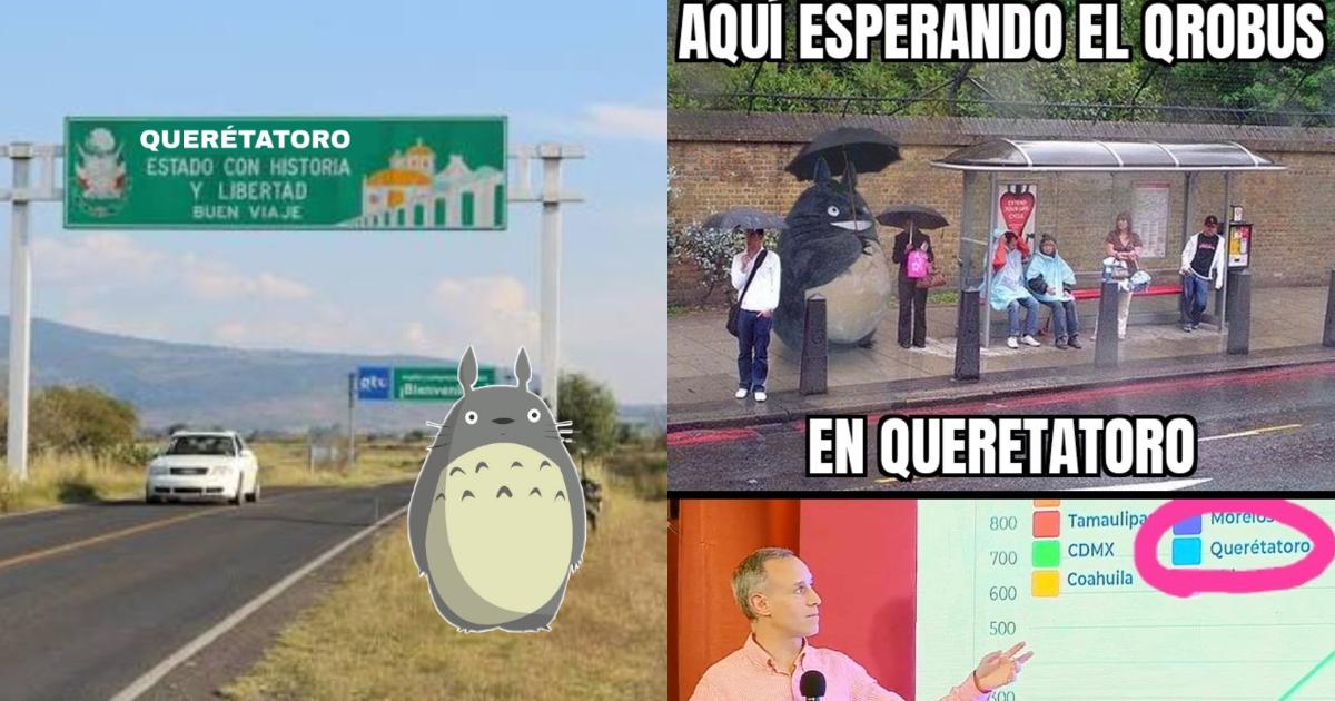 Memes de Querétatoro en conferencia coronavirus en México