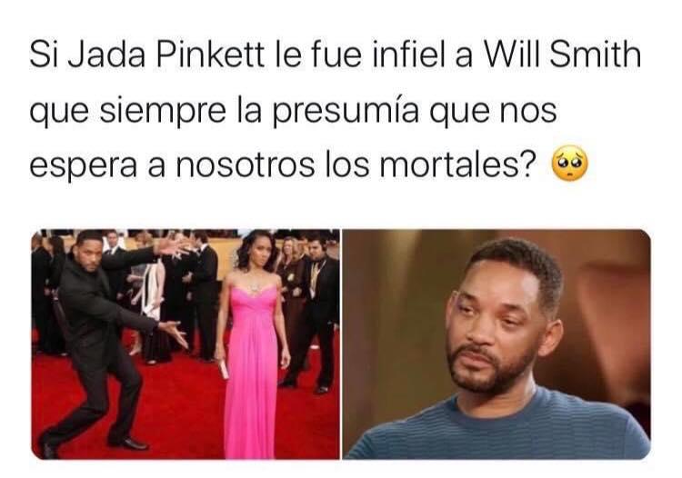 Memes de Will Smith y su esposa, Jada Pinkett