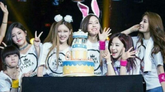 T-ARA festeja aniversario con fotos exclusivas especiales