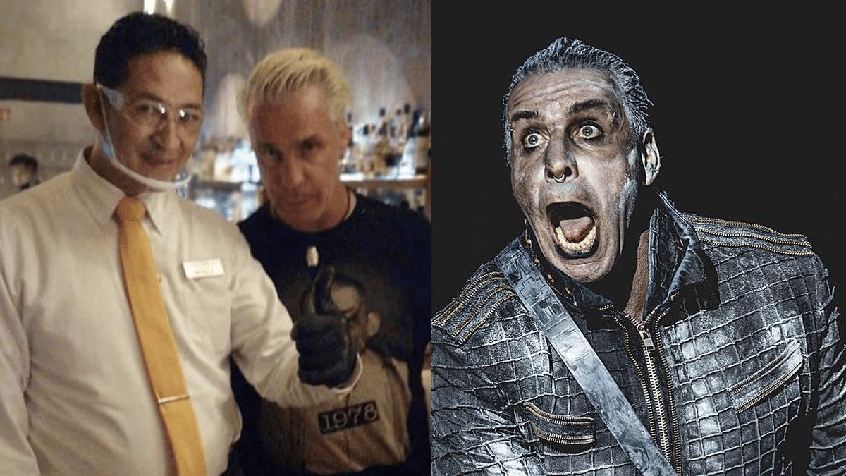 Captan al vocalista de Rammstein en Cancún en plena pandemia