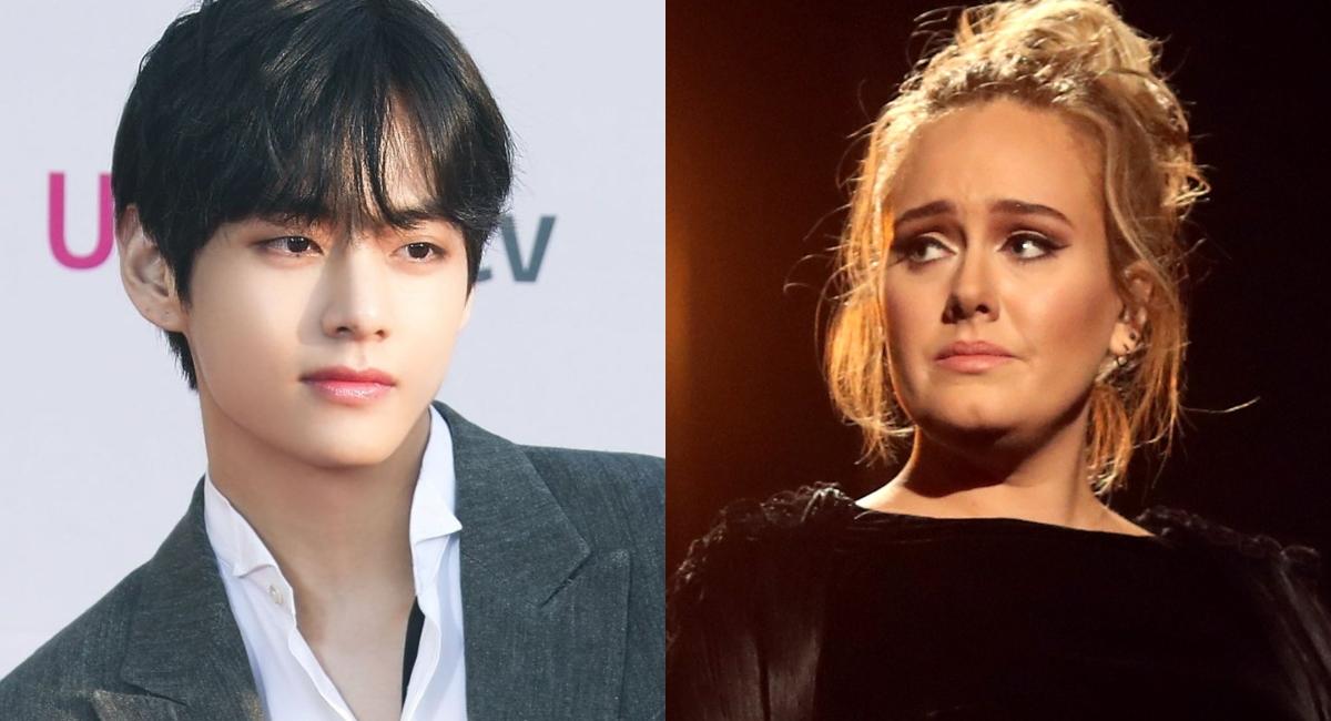 V de BTS rompe récord de Adele y se convierte en el solista con más #1 del mundo