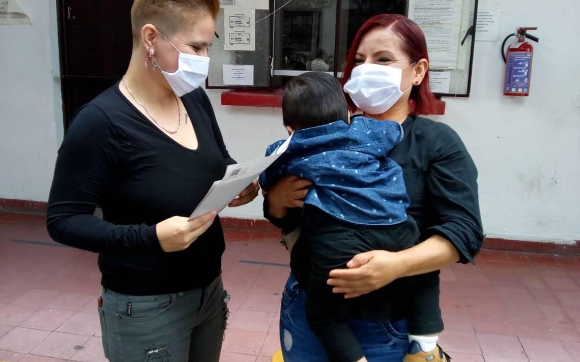 Registran en Morelos al primer bebito de familia homoparental después de un año de trámites