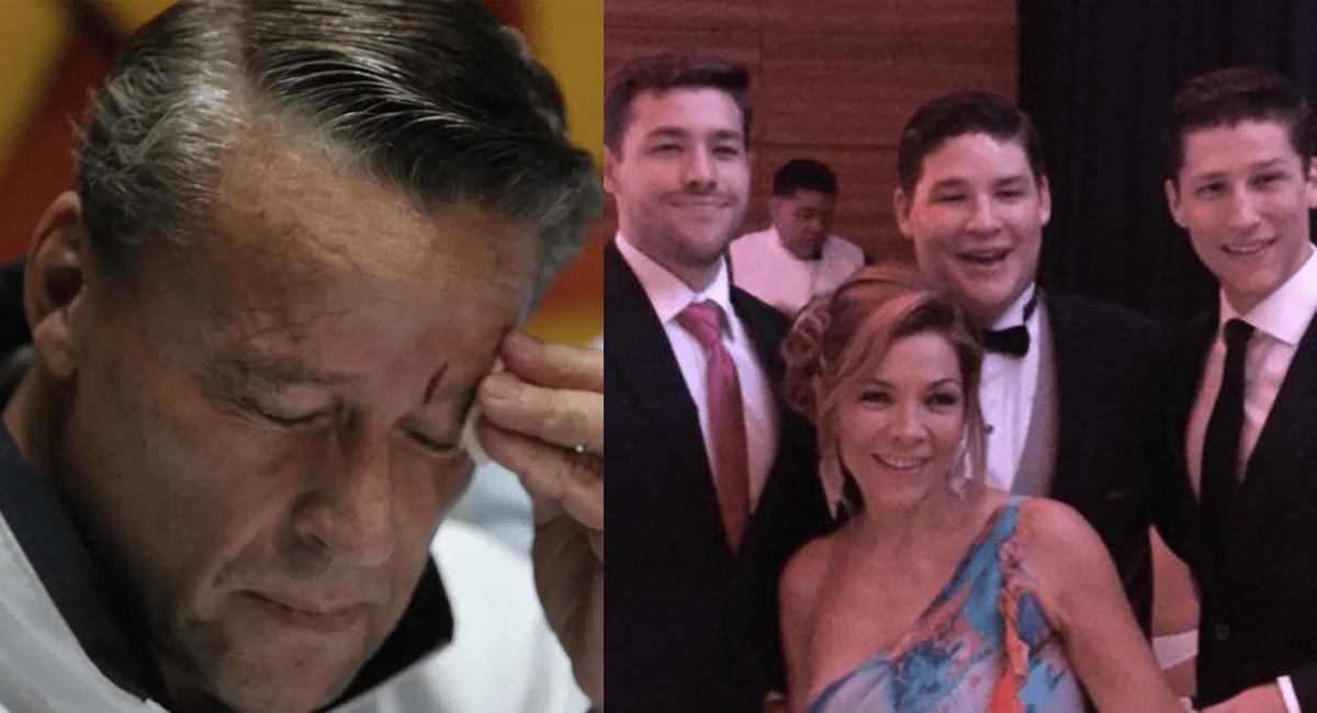 """Alfredo Adame deshereda a sus 3 hijos por """"interesados"""""""