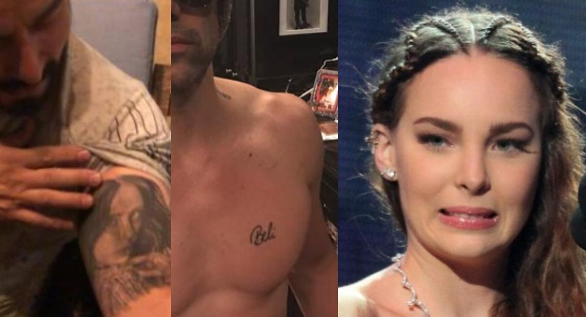 Belinda: Estos ex novios se hicieron tatuajes de la cantante