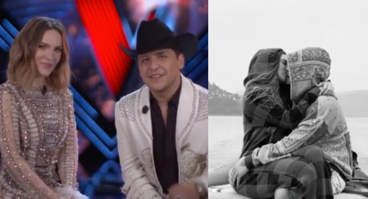 Belinda dice Te amo Christian Nodal en romántico video
